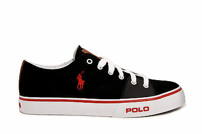 Mens Shoes Polo Ralph Lauren Cantor Low Black 11