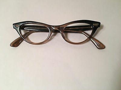 Vintage 1950s Cat Eye Glasses Frames 4- 5 1/2 Romco USA