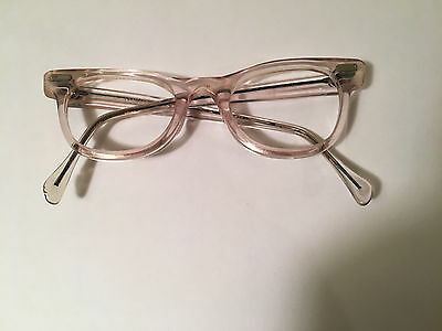 Vintage 1950s Cat Eye Glasses Frames 4 1/4  Romco USA