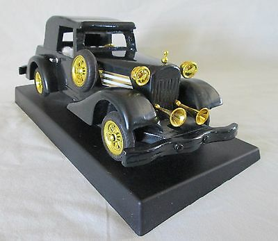Rolls-Royce 1927 Vintage Silver Ghost Model Automobile on Base.