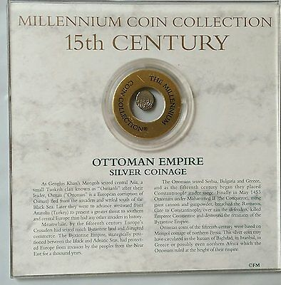 Ottoman Empire 15Th Century Silver Acke Millennium Collection