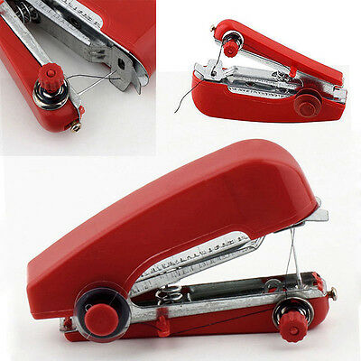 Mini Portable Cordless Hand-held Clothes Sewing Machine Home Travel Easy Stitch