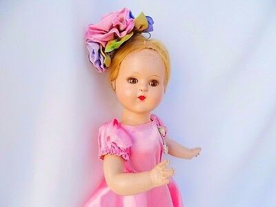 """Lovely Antique Vintage Effanbee Composition Doll 16""""  """"SUZANNE"""" ?"""