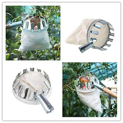 Practical Outdoor Fruit Picker Apple Orange Peach Pear Garden Picking Tool Bag