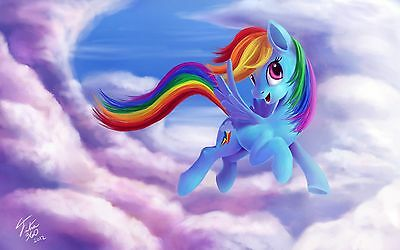 """12""""x20""""My Little Pony Paintings HD Print on Canvas Home Decor Wall Art Pictures"""