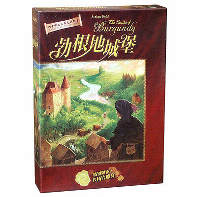 71 勃艮第 勃根地城堡 Castles of Burgundy 中文版 桌游 BoardGame FREE SHIPPING