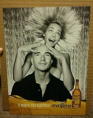 2003 Jose Cuervo Especial Tequila Ad Makes you Electric