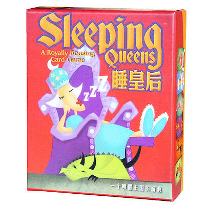 73 睡皇后 Sleeping Queens 中文版 桌游 BoardGame  KIDS TOY FREE SHIPPING