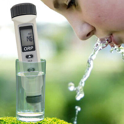 Pocket ORP Meter ±999mV Redox Monitor Ionizer Dissolved Oxygen Lab Test Radicals