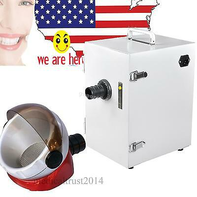 US sale Dental Single-Row Vacuum Dust Collector Collecting+ Desktop suction base