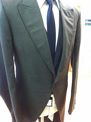 Grey Morning Herringbone Tailcoat