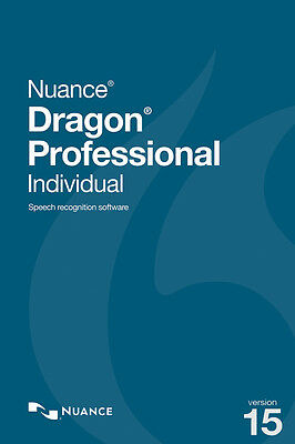 Nuance Dragon Professional Individual 15 - Educational - PC - speech recognition