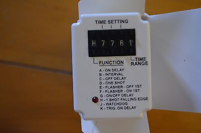 Multifunction time delay relay Dayton 6A855A