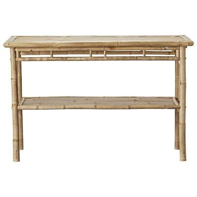 Lene Bjerre Mandisa Natural Bamboo Table Garden House Interior Furniture 120cm