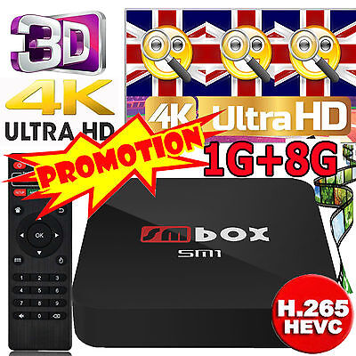 4K PRO Quad Core Android 6.0 Smart TV Box 4K Ultra HD SPORTS Media Player WIFI