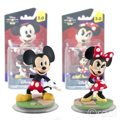 New Disney Infinity 3.0 Mickey Or Minnie Mouse Character Figures Official