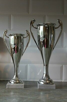 Multi sport Award, Great value trophy  FREE engraving double handle silver cup