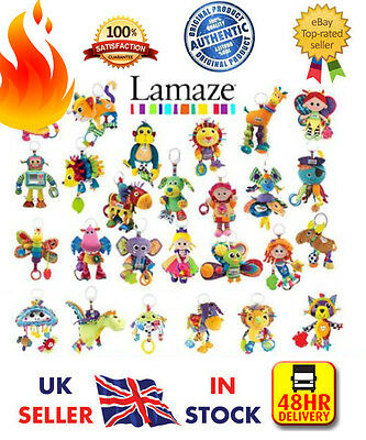 ☆New☆ Authentic Lamaze Play And Grow Kids Baby Toddler  Child Activity Soft Toys