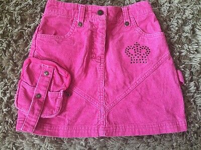 Girls Pink Skirt Size:8