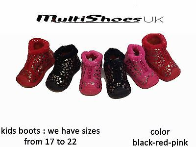 3 x Job Lot Fashion Baby Kids Boy Girl Winter Boots Toddler Soft Crib Shoes Snea