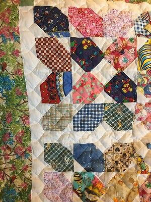 Handcrafted Handmade Boy Girl many colors Spring Fling Baby Crib Lap Throw Quilt