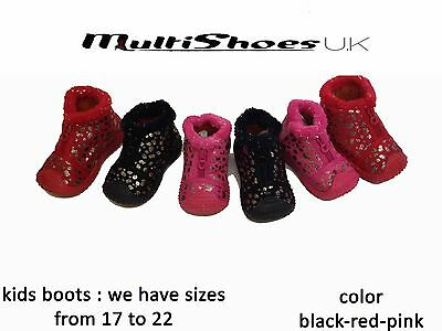 72 x Job Lot Fashion Baby Kids Boy Girl Winter Boots Toddler Soft Crib Shoes