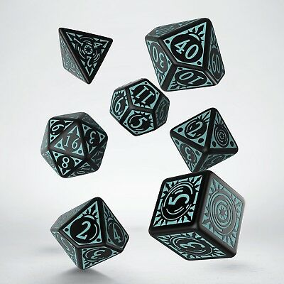 PATHFINDER Iron Gods dice set by Q-workshop & Paizo D&D Adventure Path