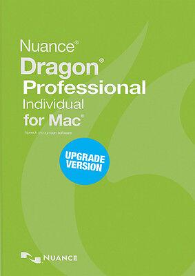 Nuance Dragon Professional Individual 6.0 for Mac: Upgrade 4.0 and 5.0 -download