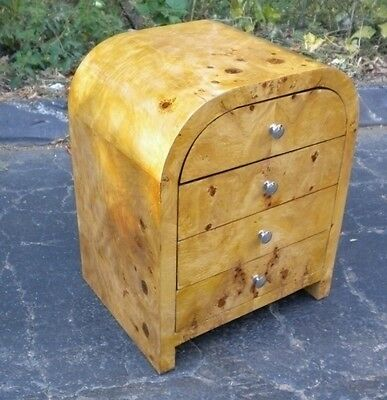 SUPERB!! Large 4 drawers Art Deco style side commode