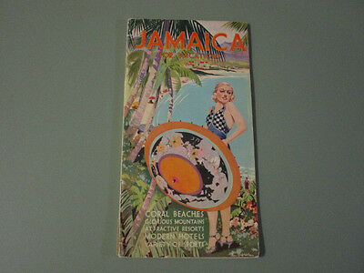 1920's Jamaica for Vacation Booklet Map