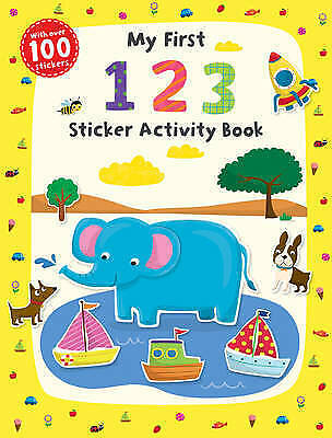 My First 1 2 3 Sticker Activity Book by Scholastic-9781407147611