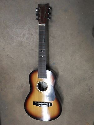 First Act Discovery Acoustic Beginners Guitar w/ Blue Travel Bag