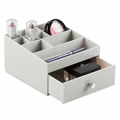pearlized drawers drawer inventinganew me chrome seville with organizer color white frosted multi classics cart
