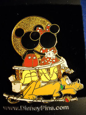Disney's Mickey and Minnie - Watching the Sunset (Pluto 3D) Pin NEW