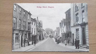 Kington, Bridge Street = Motors Sign & Post Office