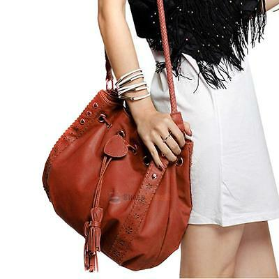 NEW Fashion Women Hobo Leather Shoulder Bag Messenger Purse Satchel Tote Handbag