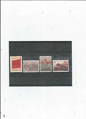 Timbres De Chine N°1813/1816