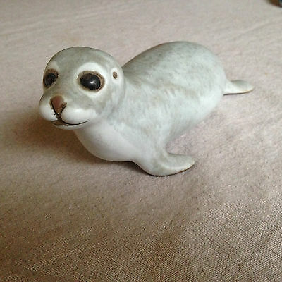 Baby Harbor Seal, Andersen Design, Maine, Signed, American Pottery