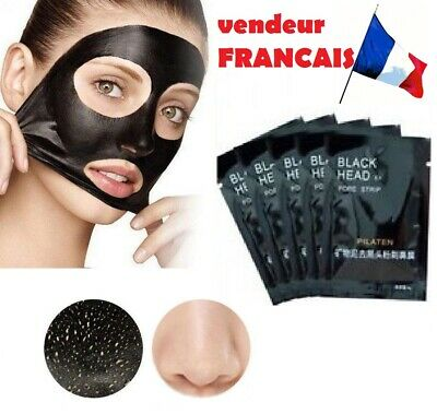 - 1 MASQUE  ANTI POINTS NOIRS/ Black Head Pilaten Charbon Soins Visage -