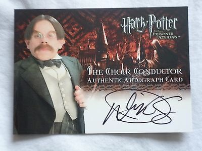 Harry Potter Prisoner Of Azkaban Autograph Card ARTBOX WARWICK DAVIS