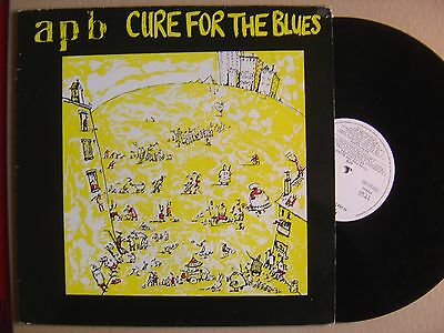 APB cure for the blues SPANISH LP LAMIA 1986