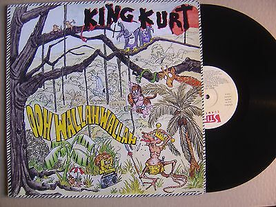 KING KURT ooh wallah wallah SPANISH LP VICTORIA 1984 PSYCHOBILLY