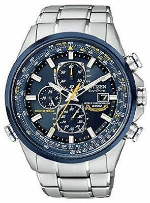 Citizen Japan Men's AT 8020-54L Eco-Drive Blue Angels World Chronograph Men's