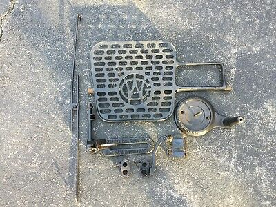Vintage Willcox And Gibbs Cast Iron Sewing Machine Parts