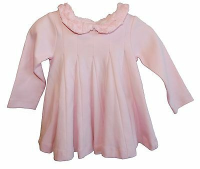 First Impressions Baby Girls Rosettes Collared Dress Pink Size 6 -9 Months