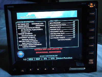 Garmin Mx20 Data Card With Chartview, 5.8 Software The Last Software Released