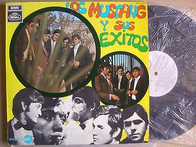 LOS MUSTANG*Los mustang y sus exitos*SPANISH LP EMI REGAL 68*POKORA*SPANISH BEAT