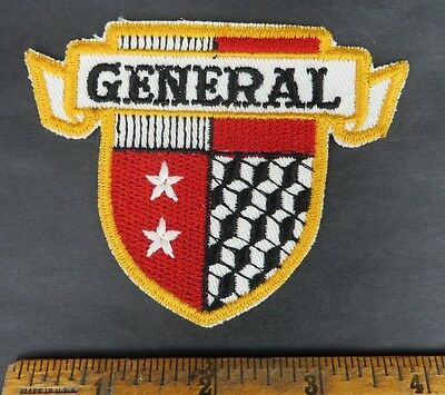 General Tires 1950s Patch NOS New Old Stock GAS OIL SERVICE STATION jacket hat