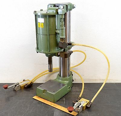 """Air Mite Dap-38 Pneumatic Bench Press Two-Hand Safety Control 2"""" Stroke"""