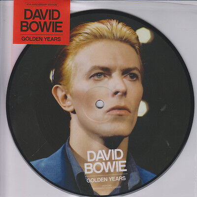 "David Bowie - Golden Years - New 7"" Picture Disc"
